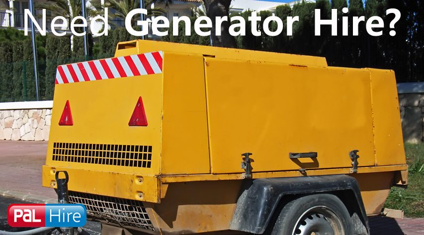 Generator Hire from PalHire